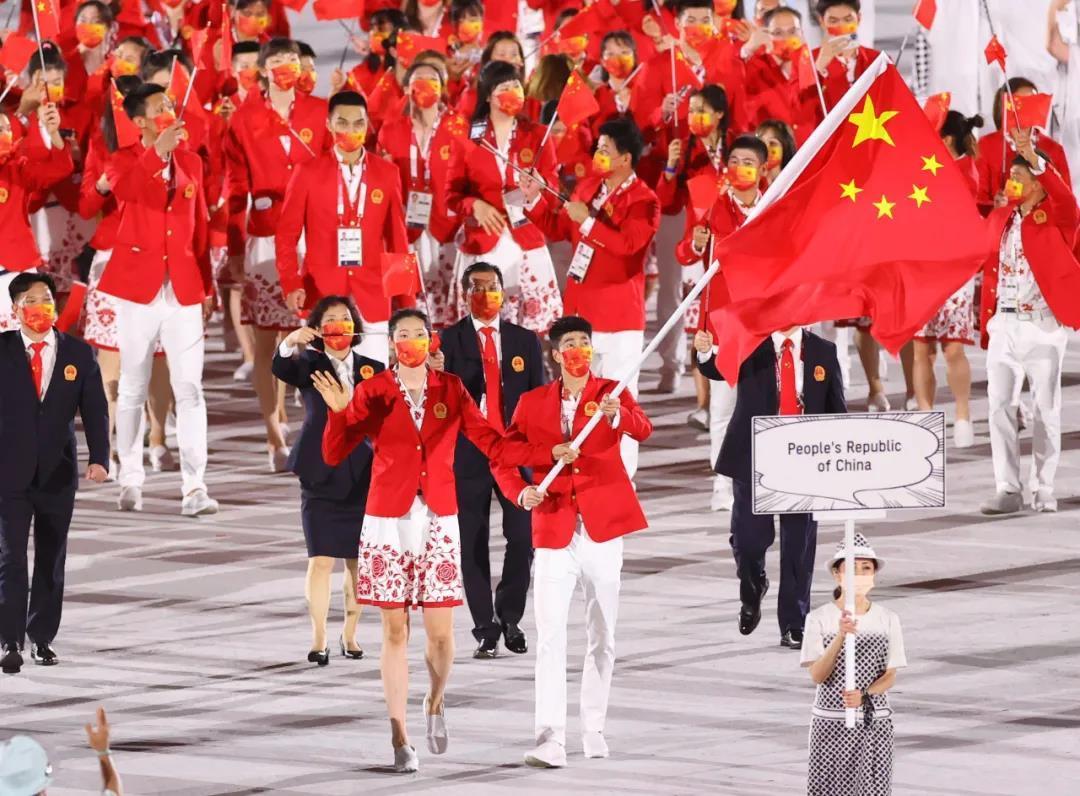 """百事娱乐:观赛指南丨东京奥运会开幕,""""中国红"""