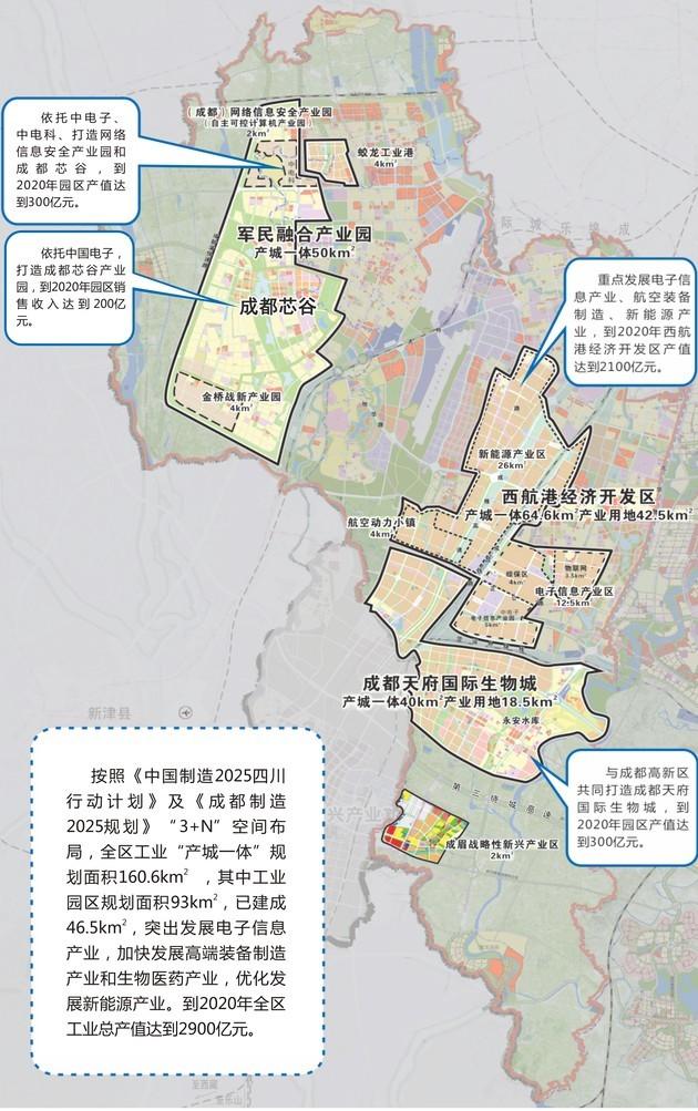 欧派集团智能家居西部基地项目等6个工业项目在成都市双流区西航港