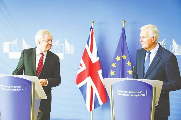 """第四轮""""脱欧""""谈判开启 欧盟索500亿分手费?英国说""""没那么多"""""""