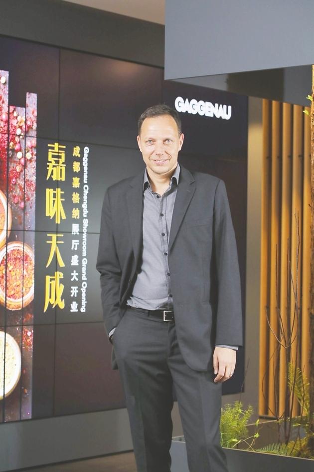 专访博西家用电器集团大中华区市场营销高级副总裁叶格:成都是