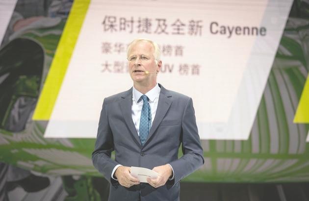 中国继续蝉联保时捷最大单一市场 Cayenne E