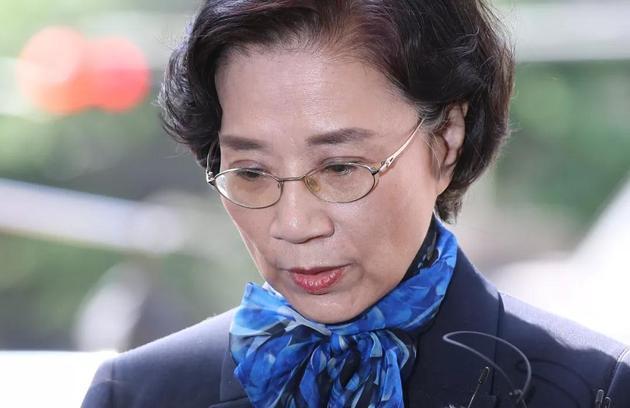 赵亮镐夫人李明姬(图片来源:视觉中国)