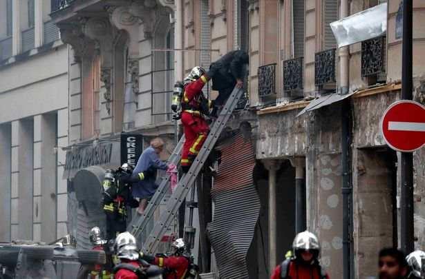 突发!巴黎市中心发生严重爆炸,已致20人受伤(多张现场图)
