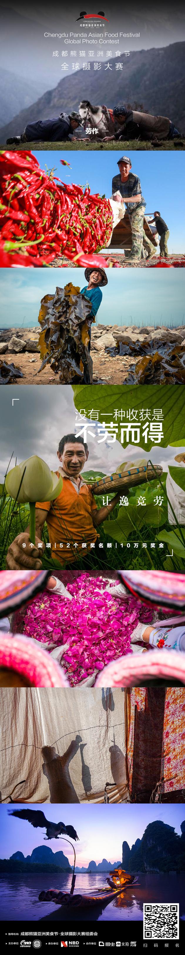倒计时5天,成都熊猫亚洲美食节全球摄影大赛