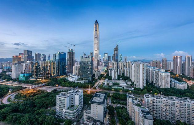 深圳夜景 图片来源:摄图网