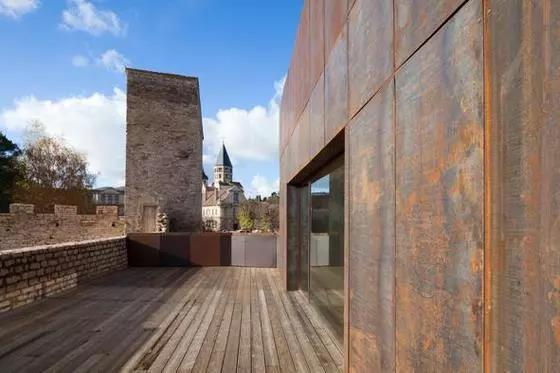 克吕尼修道院改造项目 图片来源:desmoulin-architectures官网