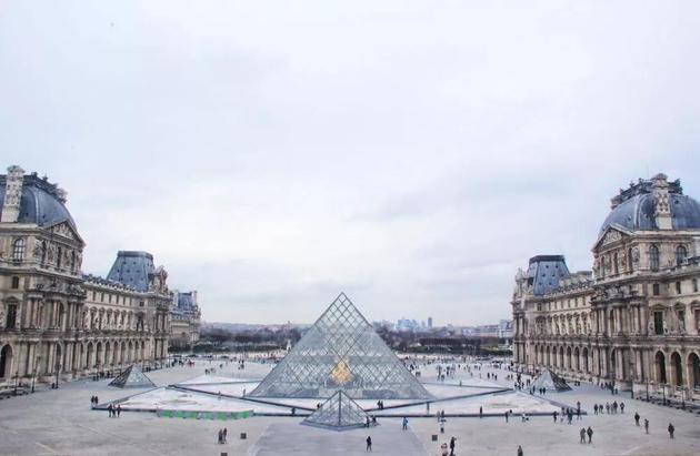 卢浮宫 图片来源:摄图网