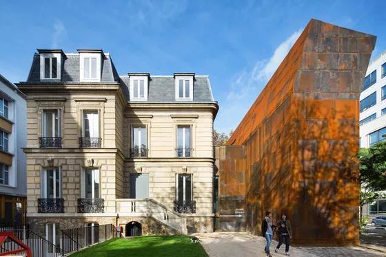德穆兰为巴黎蒙特勒伊区设计的博物馆 图片来源:desmoulin-architectures官网