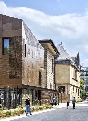 法国国立中世纪博物馆改造项目 图片来源:desmoulin-architectures官网