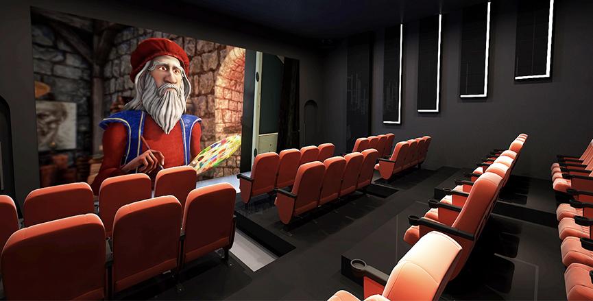 5D影院(图片来源:主办方提供)