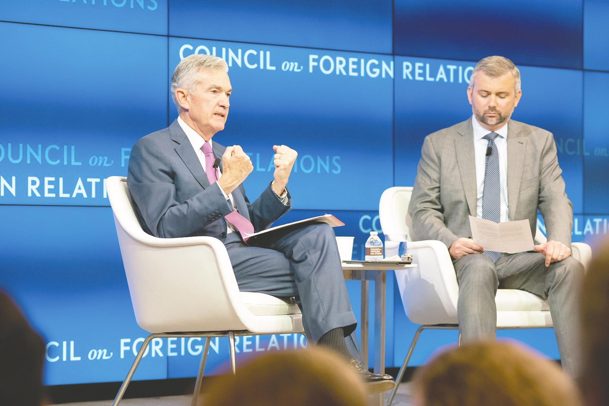美联储主席鲍威尔:许多成员认为可能需要更加宽松的货币政策