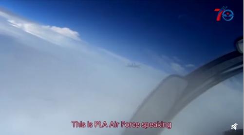 首次公布!空军超霸气海上中英文喊话