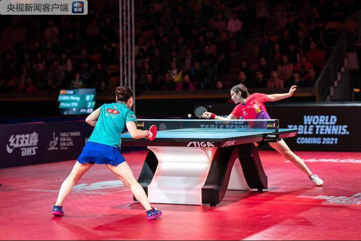 中国乒乓球队包揽瑞典1乒乓球公开赛全部五项冠军