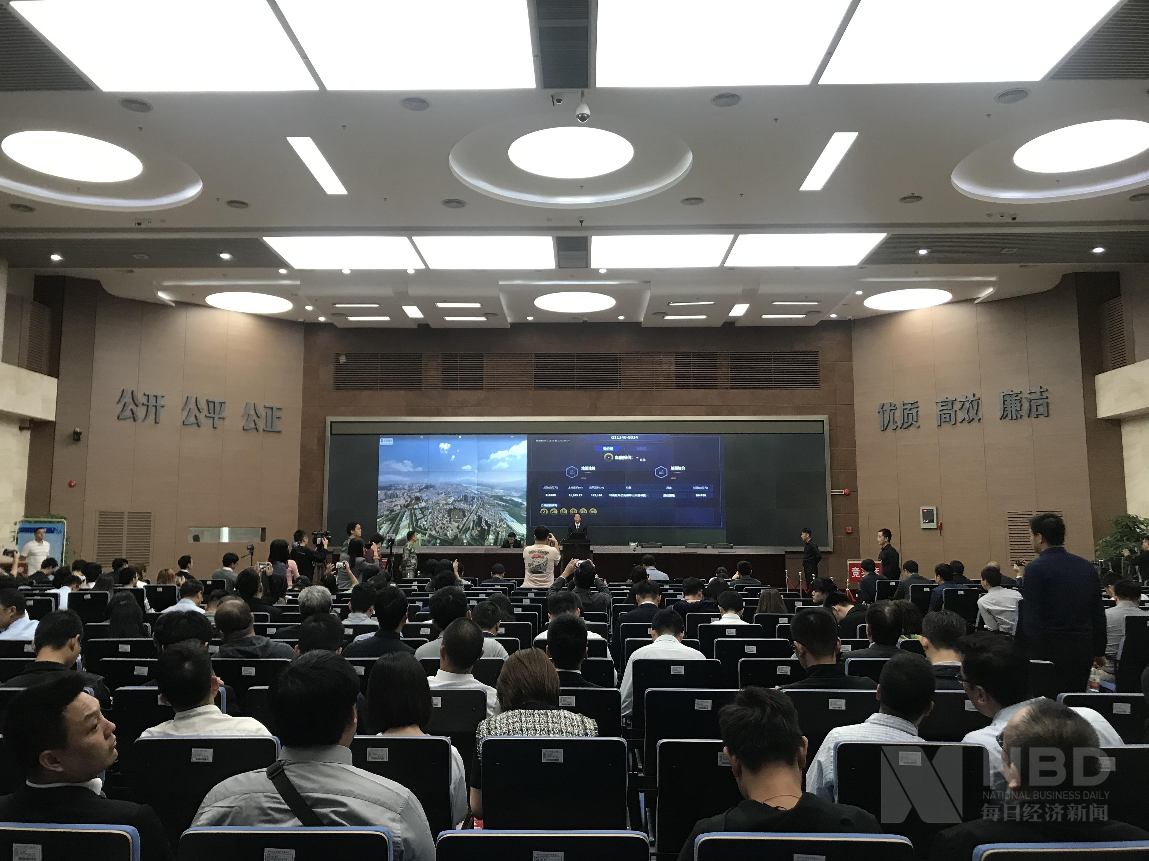 深圳再现大规模土拍:仅十余家房企参与 举牌者寥寥