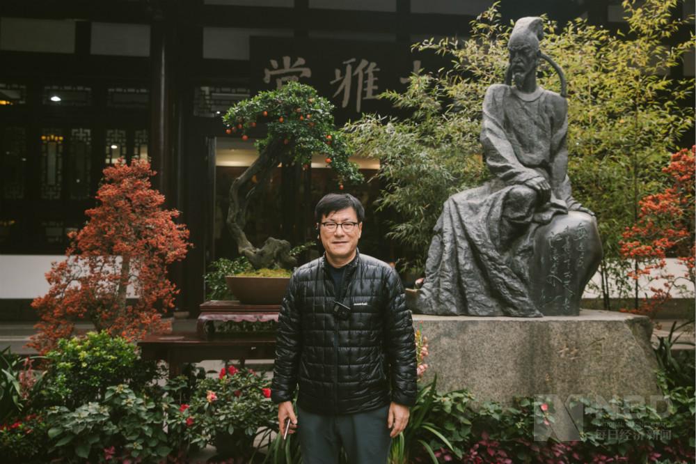 韩国每经传媒集团总裁孙显德:在成都可以更近距离感受中国历史文化