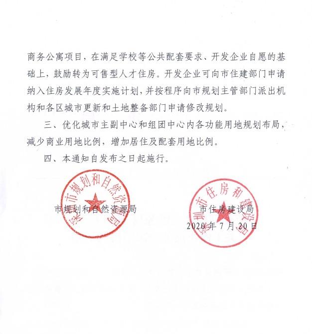 """楼市风向标?深圳再度加码调控:这次""""砍""""向商务公寓"""