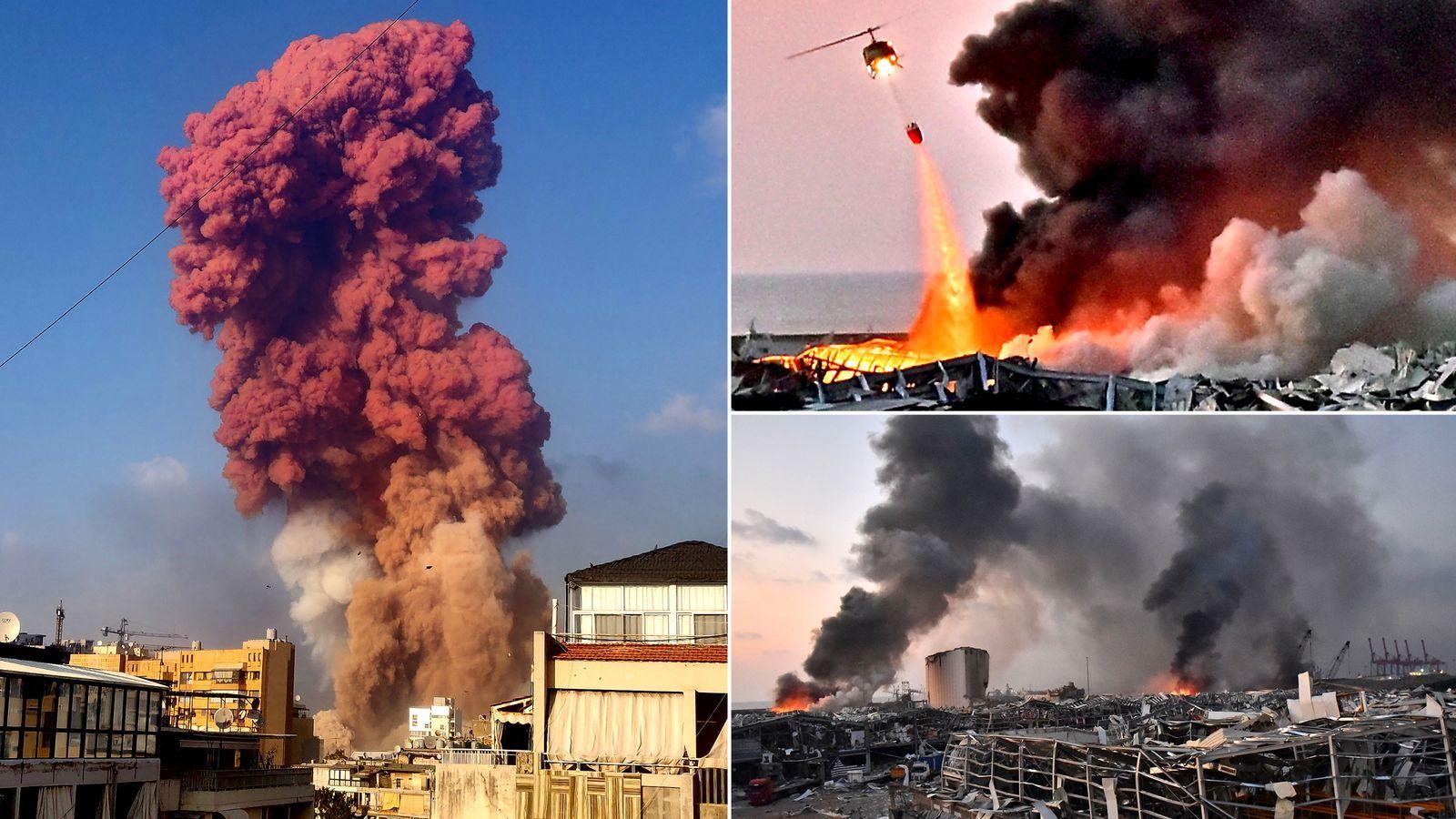 《【摩登2网上平台】贝鲁特爆炸事件余波:黎巴嫩政府已辞职,意大利爆破专家称起因不是硝酸铵,或是军用导弹》