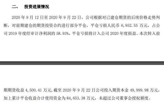 """半年狂赚7亿元的A股""""期货大神""""首次翻车!平仓亏损近7000万,股吧炸锅……"""