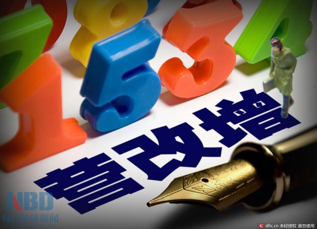 前7月中央营业税暴增3050%! 数