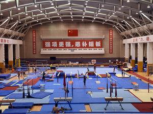 2018年8月,中国北京,位于北京的国家体育总局,除了运动员的训练基地外,还是一间体育历史博物馆,记载着中国运动员用汗水换来世界冠军的奋斗史。(图片来源:东方IC)
