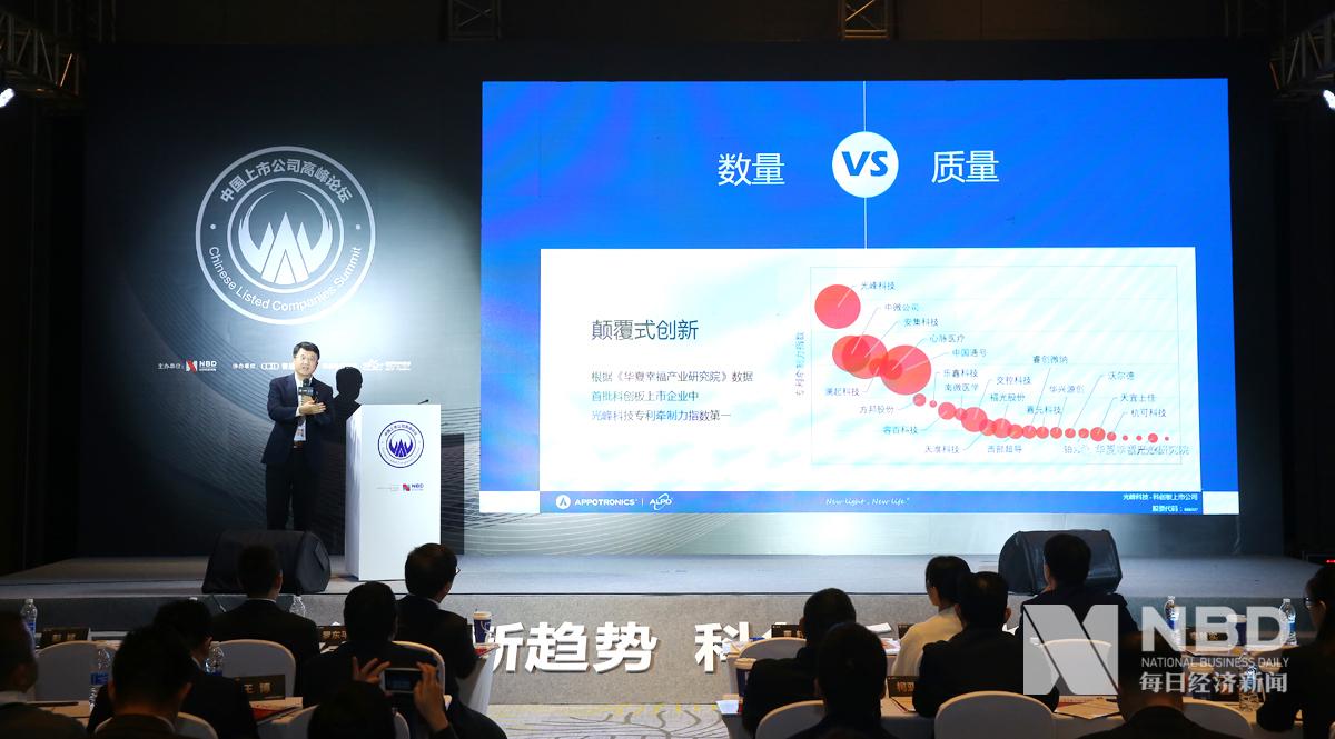 光峰科技董事长李屹:以专利合作的方式消除潜在的专利竞争对手